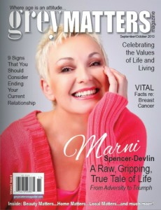 Marni Spencer-Devlin was interviewed for Grey Matters Magazine